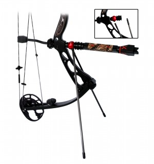 Bowstix Introduces the New Fully Adjustable Bow Bipod