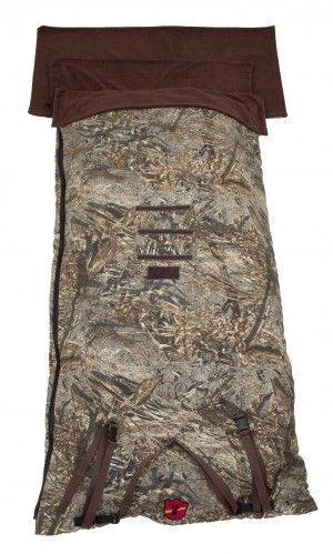 Knight Sleeping Bags Offers New ComforT Bag in Mossy Oak