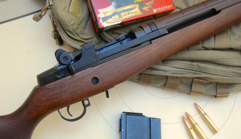 The Springfield Armory M1A Standard model is the civilian version of the battle classic M14