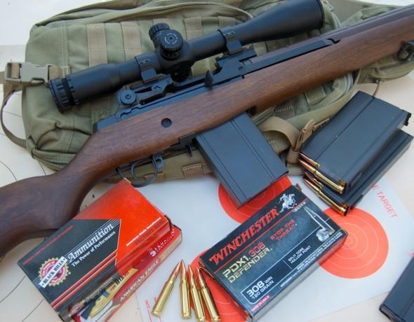 Springfield Armory M1A Hawke Sidewinder scope