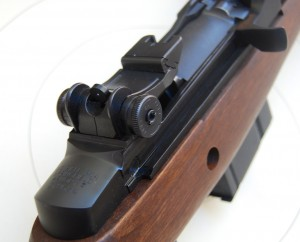 Springfield Armory M1A rear sight