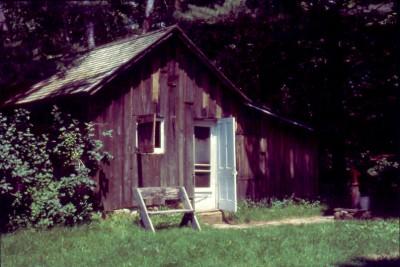 Aldo Leopold's shack near Baraboo, Wisconsin.