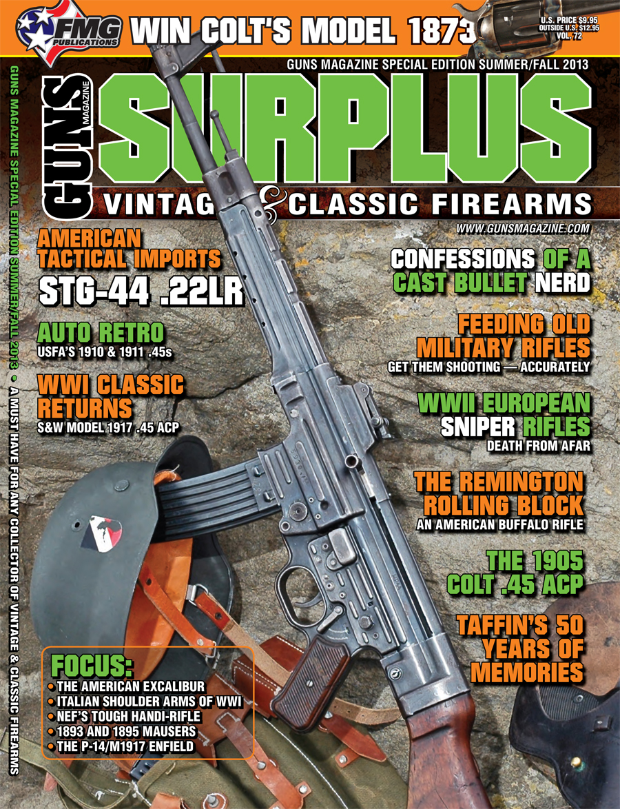 Vintage and Classic Firearms Take Center Stage in GUNS Magazine