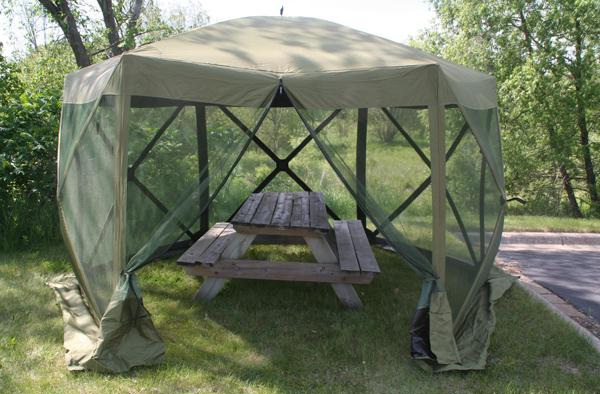 Clam S New Six Pack Screen Tent Scores Big On Set Up And
