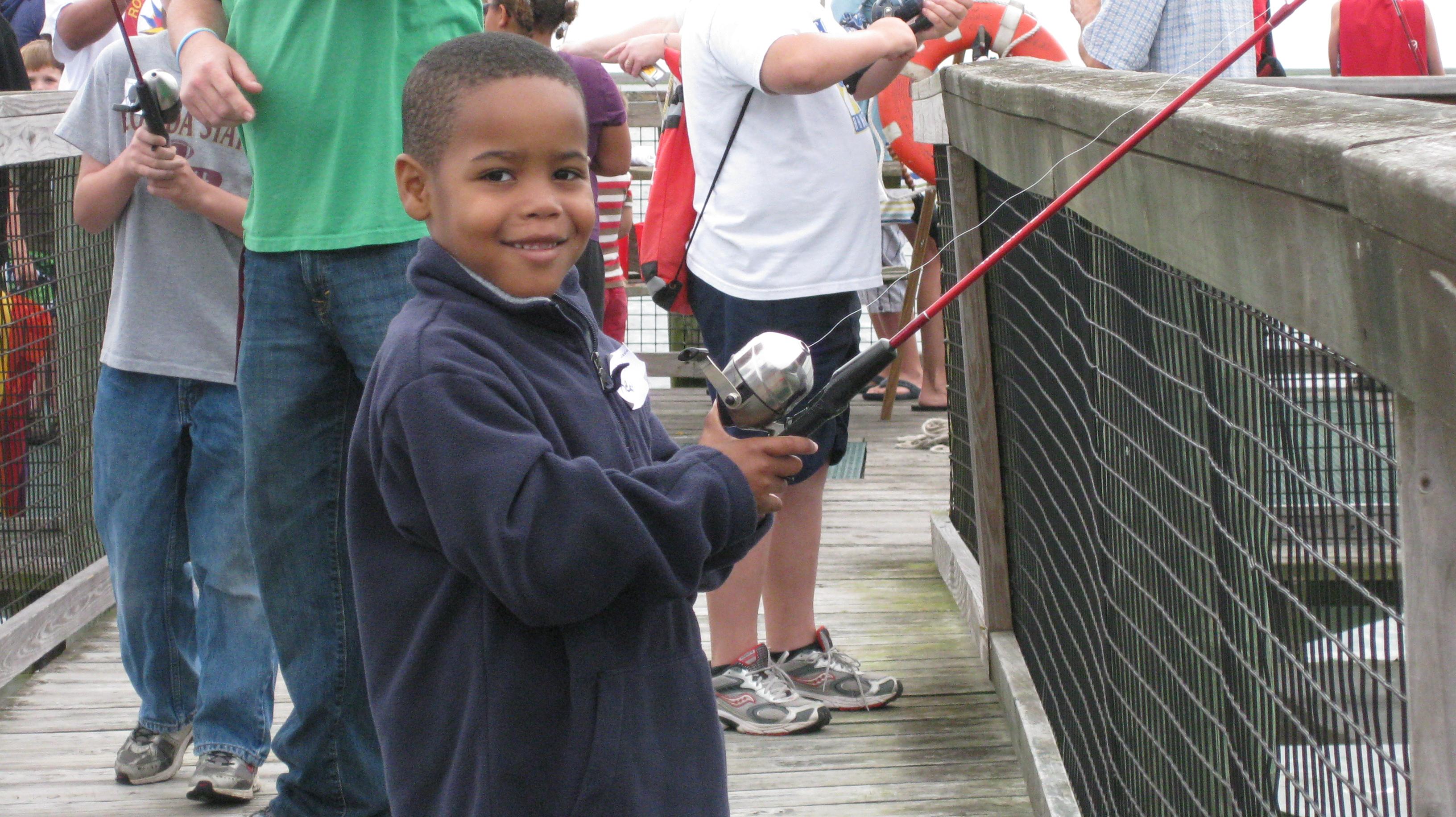 Florida free kids fishing clinic promises day of learning for Florida free fishing days