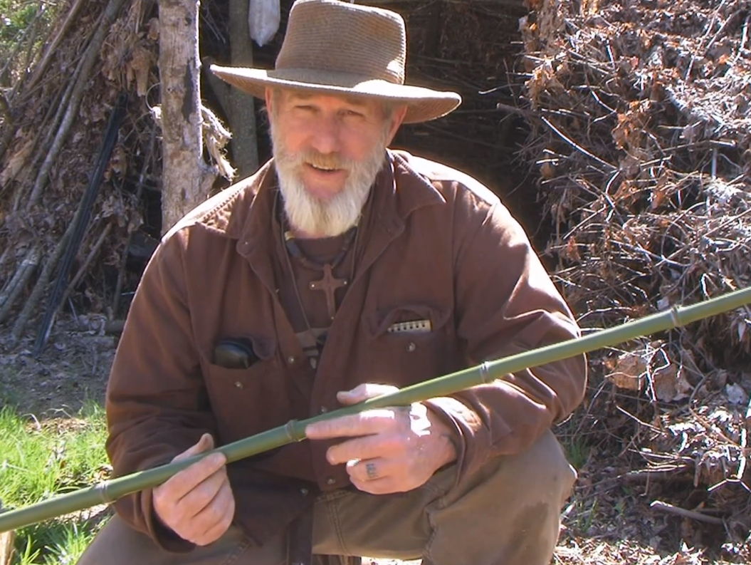 Video dave canterbury shows how to build a cane pole for for Canterbury home show