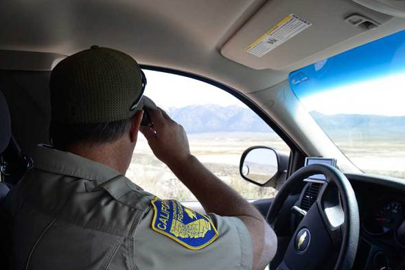 California dfw law enforcement active at eastern sierra for Fishing without a license california