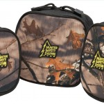 The HSS Tactical Bag set features Realtree AP camouflage on the front of each bag for concealment.