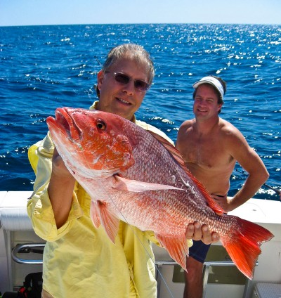 Red snapper has a two-fish bag limit in Florida.