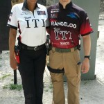 Team ITI members Laura Torres-Reyes (L) and Morgan Allen (R) at the 2013 Great Lakes Regional.