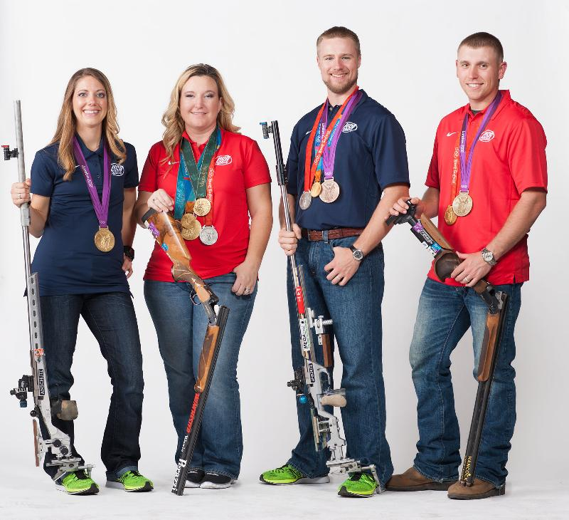 USA Shooting's Olympic Medalists Featured On Tonight's