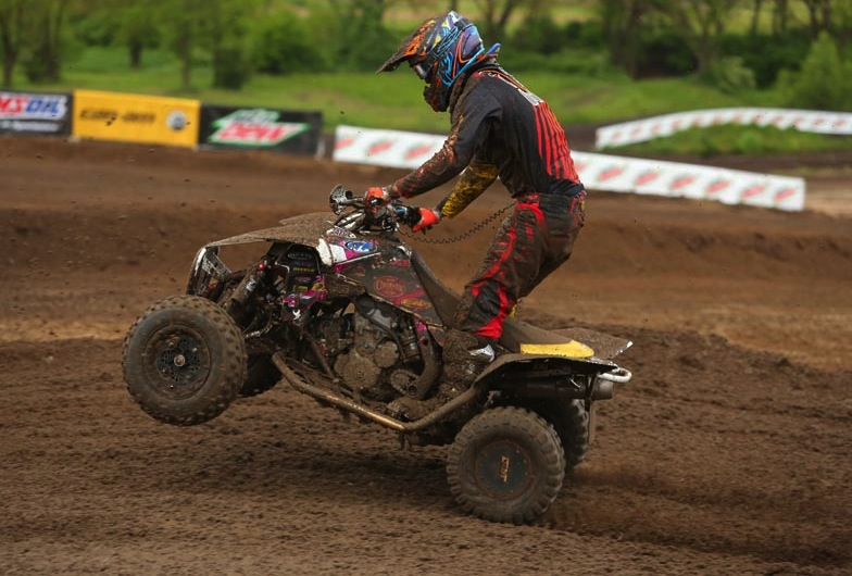William Lloyd won the Junior 25 Plus class and was sixth in the Pro-Am class in Walnut, Illinois, competing on ITP tires.
