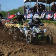 Using the new ITP Quadcross MX2 fronts and Quadcross MX Pro Lite rear tires, Sam Rowe of Root River Racing won the College 16-24 class in Indiana.