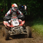 Riding on ITP Holeshot GNCC tires, Senior A/B (40+) class racer Brian Schmid expanded his class points lead to five points after his class win at GNCC round six.