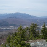 Mount Hayes is a fine vantage point to see the Androscoggin River Valley and northern Presidentials.