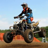 BCS Performance / Can-Am DS 450 Pro Josh Creamer finished fourth in the Pro class at the inaugural Wildcat Creek MX event in Indiana.