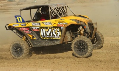 Can-Am Maverick 1000R racer John Pacheco (IMG Motorsports) finished sixth in the SxS Pro Production class at round five of WORCS in Taft. Calif.