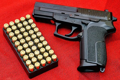 A recently-passed law in California requiring most handguns to microstamp ammunition may effectively ban the ownership of newly-made handguns in the state.