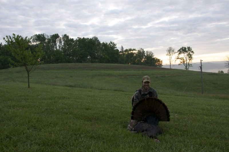 Though the first shell failed to perform, the second one did its duty and punctuated the Tennessee sunrise.