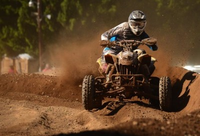 Travis Moore finished second in both the NEATV-MX Pro and Pro-Am classes in Pennsylvania.