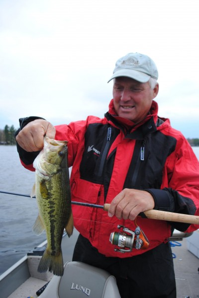 Houghton Lake largemouth bass are numerous and healthy.