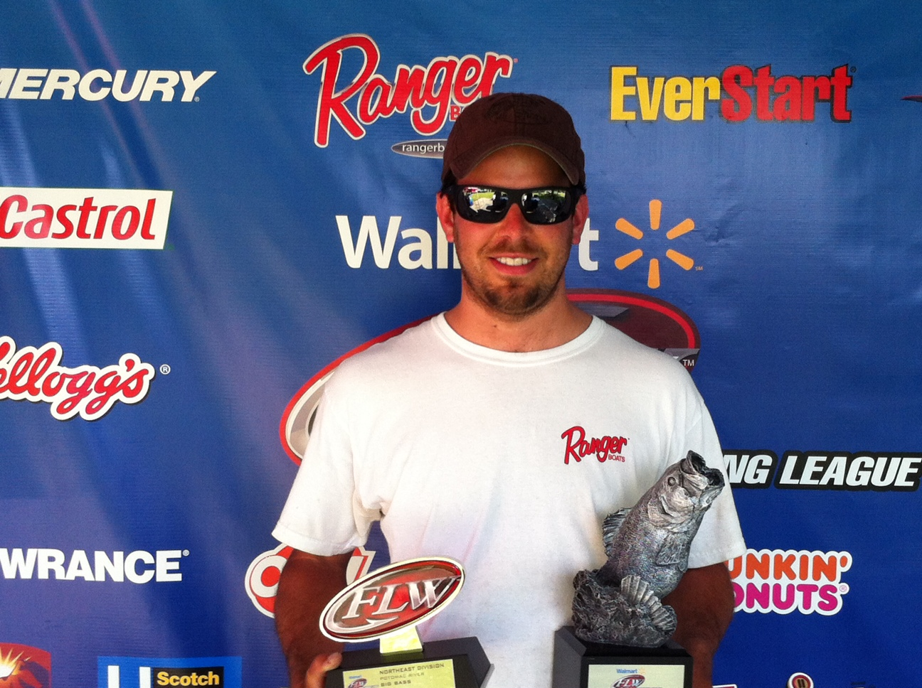 Panetta wins walmart bass fishing league northeast for Fishing license md walmart