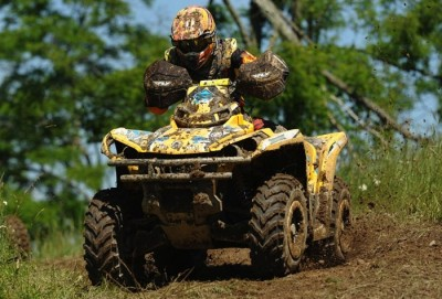 Defending 4x4 Open class champion and Can-Am Outlander 800R racer Bryan Buckhannon is a perfect 8-for-8 this year after winning round eight of the GNCC series in West Virginia.