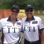 ITI Team Members Cindi Thomas and Laura Torres-Reyes at the 2013 Western Pennsylvania Sections.