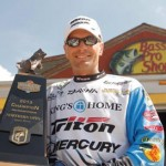 Randy Howell of Springville, Ala., brought in a total weight of 47-11 to win the Bass Pro Shops Bassmaster Northern Open on the James River in Virginia.