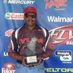 James Buchanan won the Walmart BFL South Carolina tournament on Lake Wylie with 16 pounds, 15 ounces to earn $3,671.