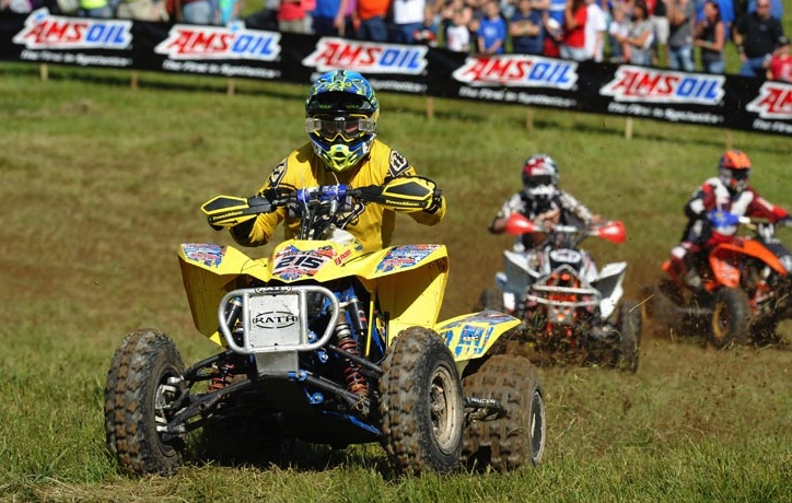 Kenny Rich Sr. raced with ITP Holeshot GNCC tires and won the Masters 50+ class at round eight of the GNCC series.