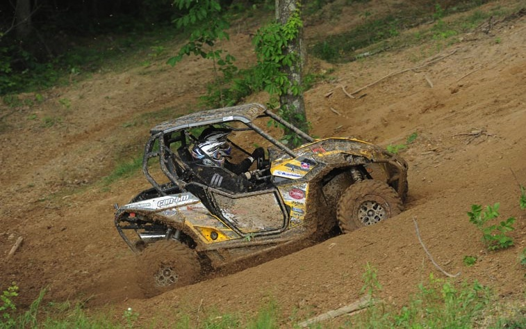 Using ITP Terracross R/T XD tires, JB Racing / ITP racer Kyle Chaney and co-pilot Denny Napier won the UTV XC1 Modified class at round seven of the AMSOIL GNCC series in Millfield, Ohio.