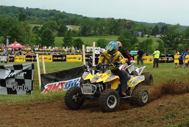 Kenny Rich Sr. pulled the Masters 50+ class holeshot with ITP Holeshot GNCC tires at round seven of the 2013 AMSOIL GNCC in Ohio.