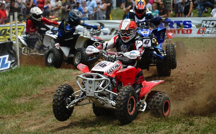 ITP Holeshot GNCC tires have propelled Brian Schmid to six total podium finishes in 2013 and the Senior A/B (40+) class points lead after seven rounds of racing.