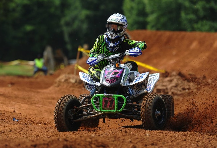 Megan Manshack (Root River Racing) was third in the Women's class at round six using ITP Quadcross MX tires.