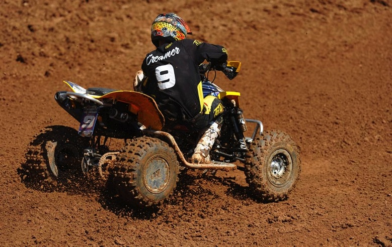 ITP racer Josh Creamer (BCS Performance) took sixth place in the Pro class at round six of the AMA ATV MX series using ITP Quadcross MX2 fronts.