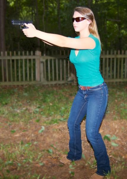 7 Deadly Sins of Handgun Shooting - Proper Stance