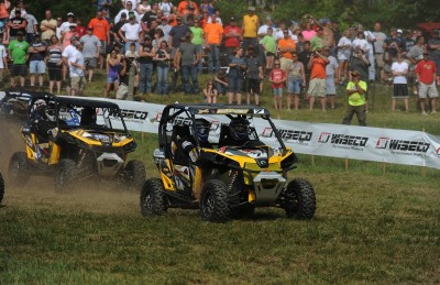 Chaney grabbed the row-three holeshot and didn't look back until he put his JB Off-Road-prepped Can-Am Maverick 1000R X rs in the winner's circle at round three of the GNCC SxS series.