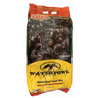 Food plot seed for waterfowl is readily available. Image courtesy Hard Core Decoys.