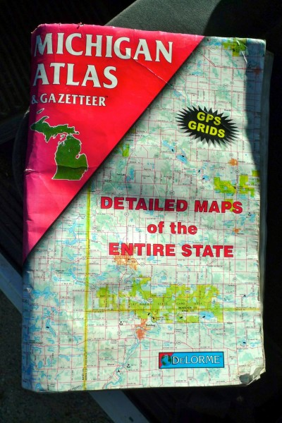 A Michigan Atlas & Gazetteer is a great tool for finding smaller lakes off the beaten track.