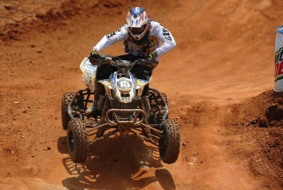 Nick Gennusa (BCS / Can-Am X-Team) finished second in the Open A class to retain his points lead. He also took sixth in the Pro-Am class aboard his DS 450 ATV.
