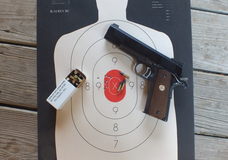 The Iver Johnson 1911 .22LR conversion kit is an affordable, reliable, and accurate accessory with some minor drawbacks.
