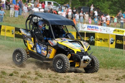 Michael Swift piloted the Team UXC Racing / Can-Am Maverick 1000R X rs to third in the UTV XC2 Limited class at The John Penton GNCC.