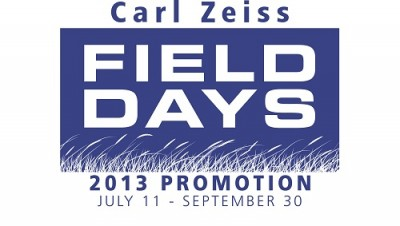 Zeiss is offering its 2013 FILED DAYS promotion July 11 through September 30.