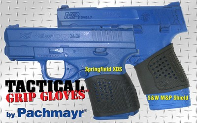Pachmayr's new Tactical Grip Gloves.