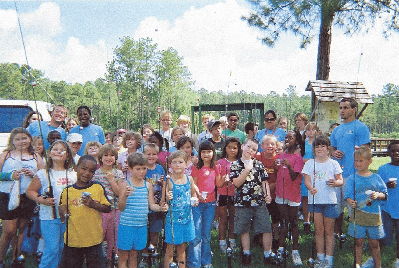 Jacksonville youth fishing camp.