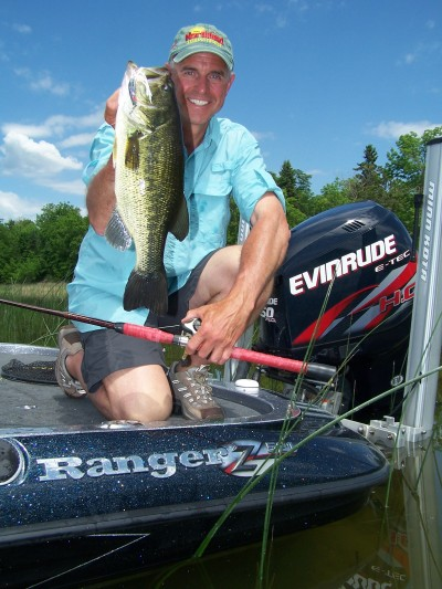 Hot weather can create hot fishing. Smallmouth and largemouth bass are especially susceptible to an angler's presentation at this time of year.