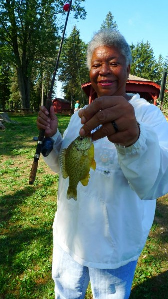 Anglers from the Van Buren County Senior Services Fishing Club know there's more to banking for panfish than gear.