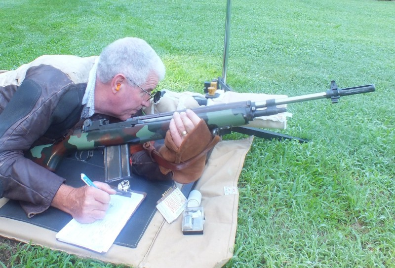 To maintain the correct zero, every shot fired should be recorded in the data book.