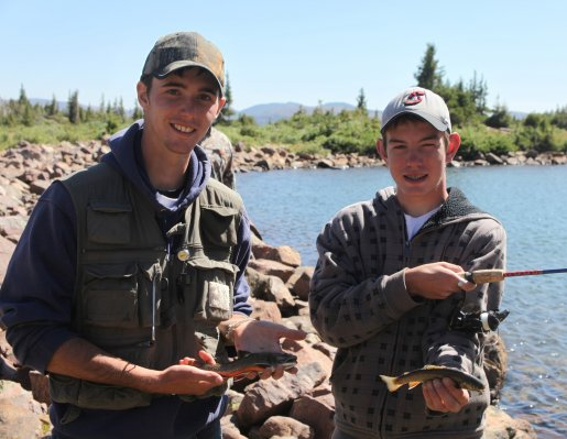 High elevation waters offer great summer fishing in utah for Trout fishing utah